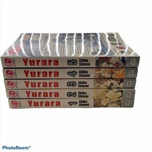 Yurara English Anime Manga Books 1-5